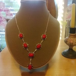 Handmade New Necklace and Earring Set